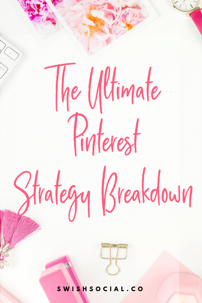 The Ultimate Pinterest Strategy Breakdown. Pinterest marketing for website traffic. How to get traffic from website. How to use Pinterest marketing strategy.