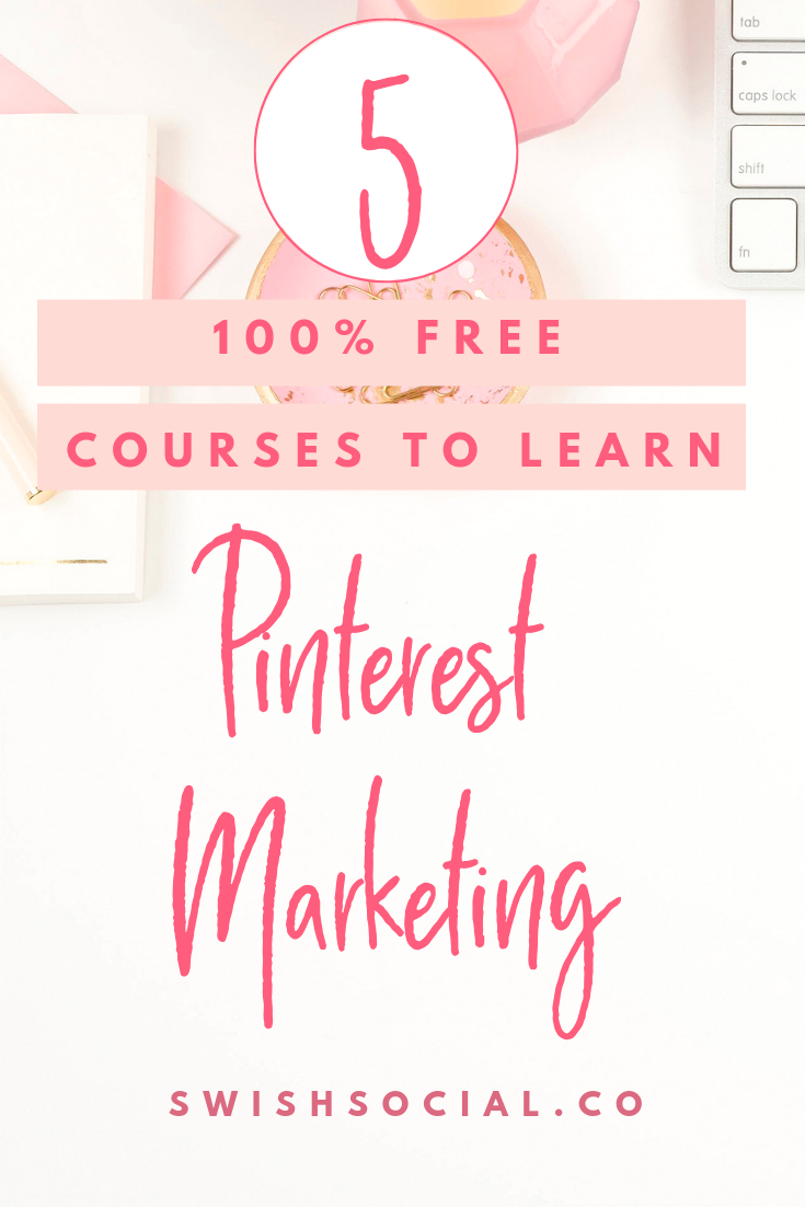 100% Free Pinterest courses to turn you into a Pinterest Expert.