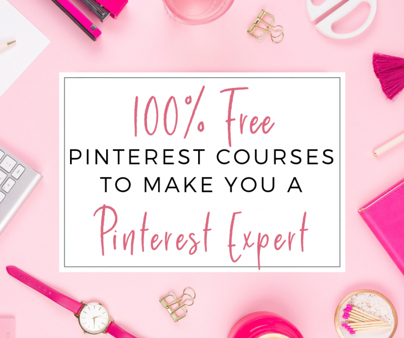 100% Free Pinterest Courses to Make you a Pinterest Experts to Make you